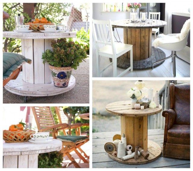Tienda online de muebles con materiales reciclados - Decoracion vintage reciclado ...