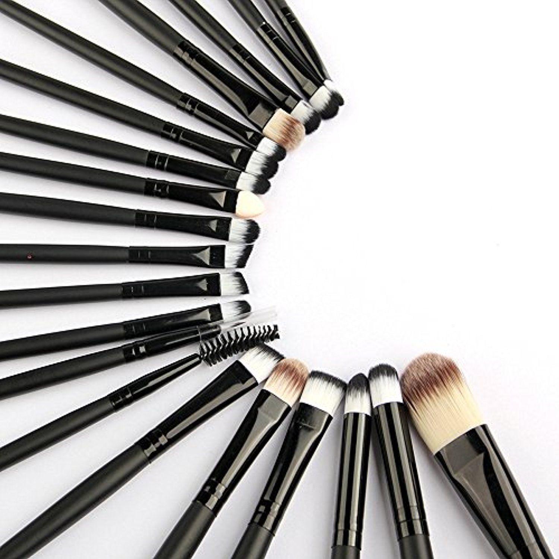 SunnyJen 20 Piece Professional Makeup Brushes Set
