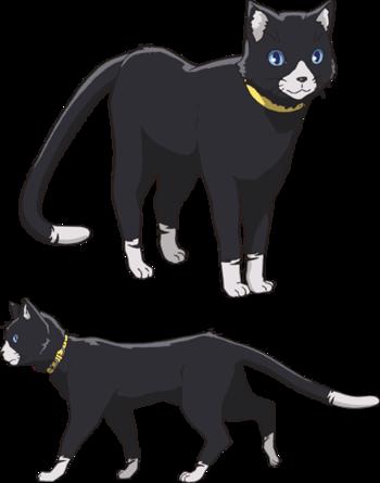 Morgana Persona 5 Persona 5 Anime Cat Character Persona 5