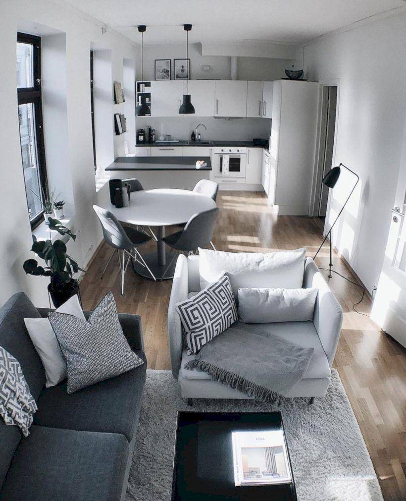 46 Comfy Apartment Interior Design Ideas Small Apartment Living Room Apartment Decor Inspiration Fresh Living Room