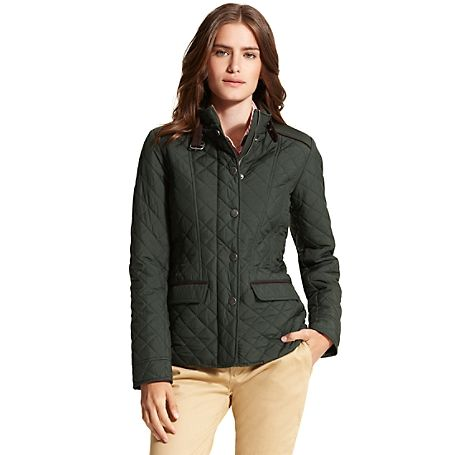 Tommy Hilfiger women's jacket. $99 Our updated quilted