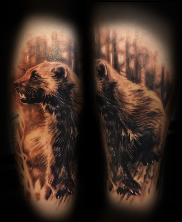 Wolverine Tattoo By Tuomaskoivurinne Wolverine Tattoo Tattoos Wolverine Animal