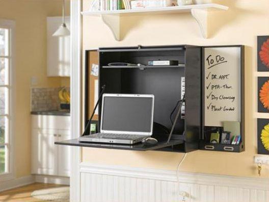 5 Fold Out Desks For Small Spaces Fold Down Desk Diy Computer Desk Fold Out Desk