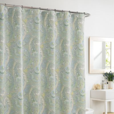 Rhapsody Mist 72-Inch x 72-Inch Shower Curtain - BedBathandBeyond.com