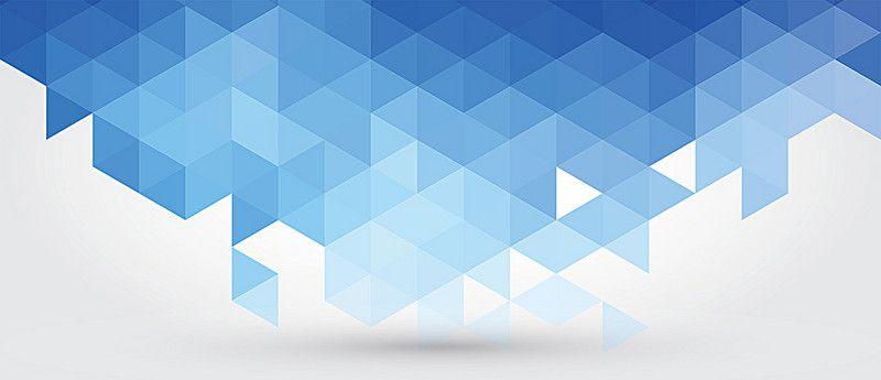 Plano De Fundo Azul A Geometria Imagem De Fundo Llu