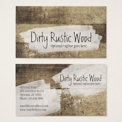 Shabby grunge vintage boards dirty rustic wood business card shabby grunge vintage boards dirty rustic wood business card branding marketing by cyanskydesign on reheart Image collections