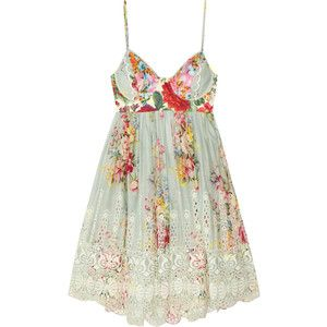 Zimmermann Sundance embroidered cotton dress