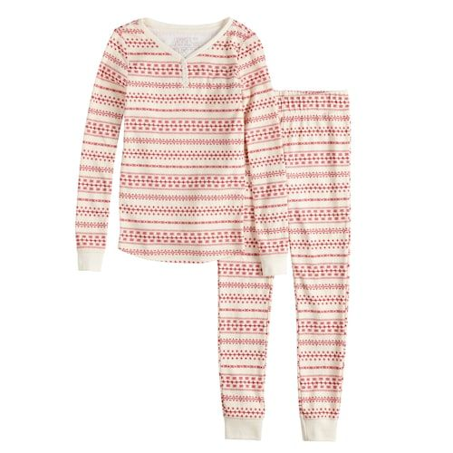 4ae03ce404f6 Girls 7-16 LC Lauren Conrad Jammies For Your Families Knit Winter ...