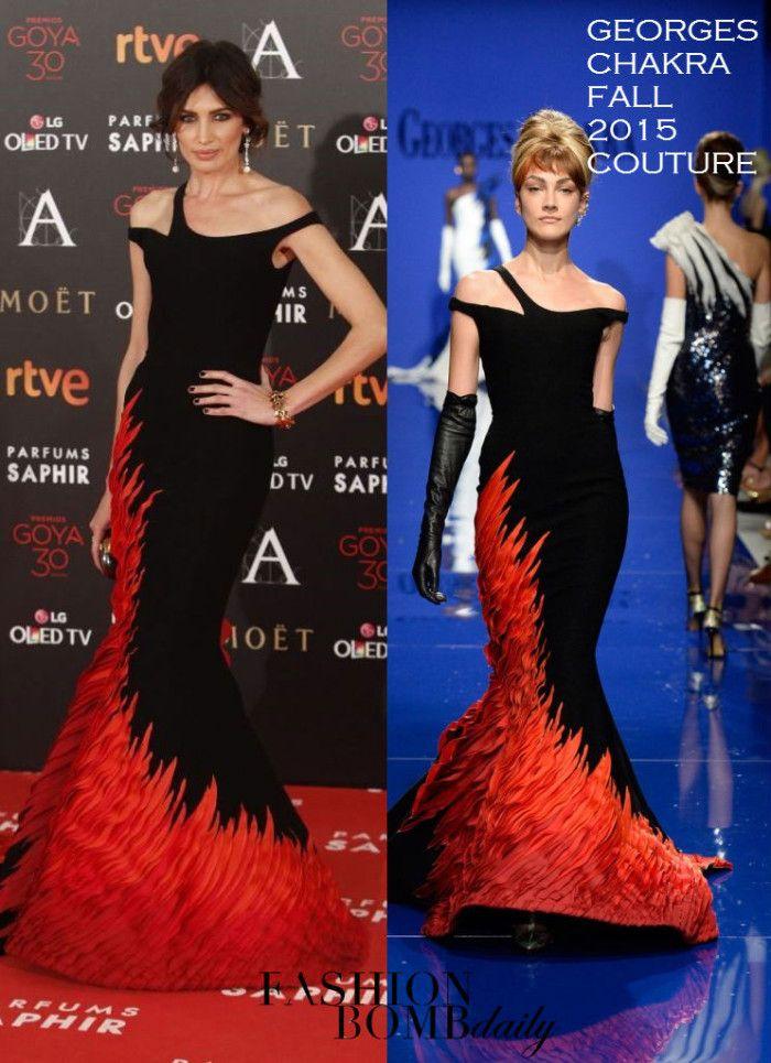 Nieves Álvarez en Stéphane Rolland couture – Goya Awards 2016