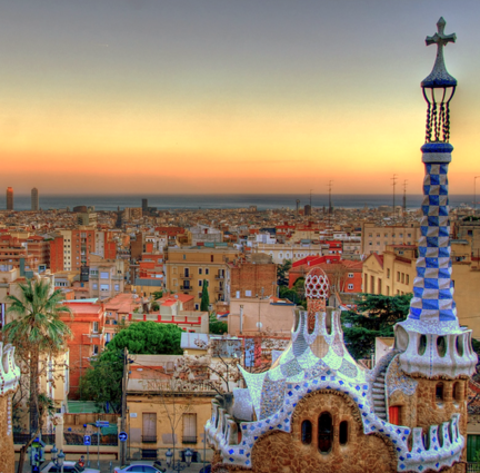 DAY 2 SEE BARCELONA'S ARTISTIC HERITAGE Welcome to Europe! Arrive in Barcelona, and meet your delegation manager at the airport. This local expert will be your guide (and a source of endless information) for the entire journey. Your delegation will also have a private motor coach and driver to get you comfortably from place to place. #travel #travelinspiration #barcelona