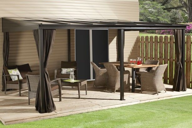 St Barthelemy Wall Mounted Gazebos Collections Sojag