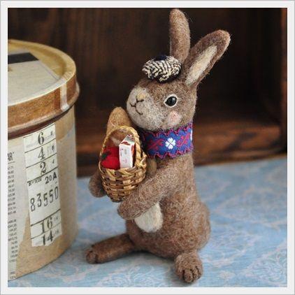 felting bunny