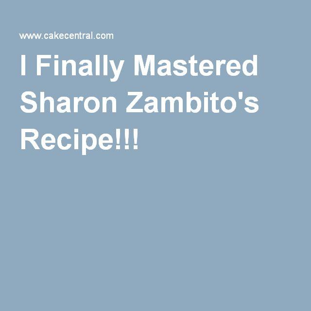 I Finally Mastered Sharon Zambito's Recipe!!!