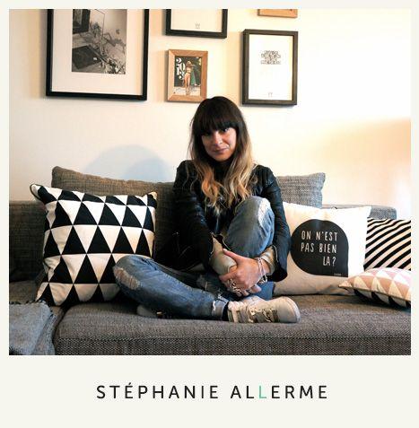TOUCH cette image: Stéphanie Allerme pour Coussin Germain by COUSSIN GERMAIN