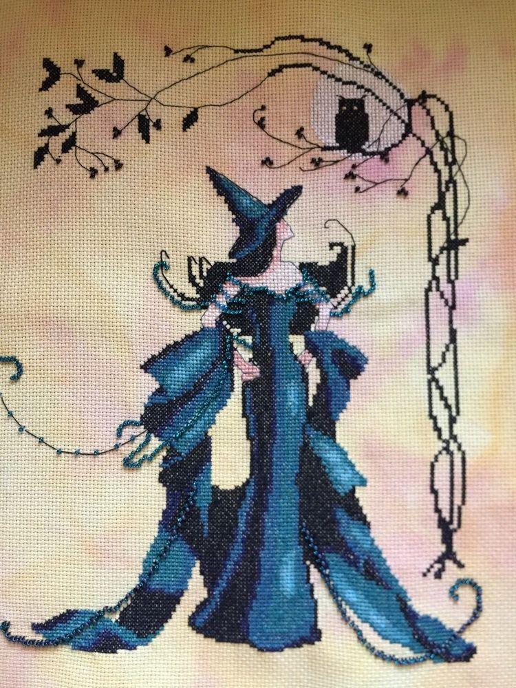 Nora Corbett Cross Stitch Chart ~ EVA