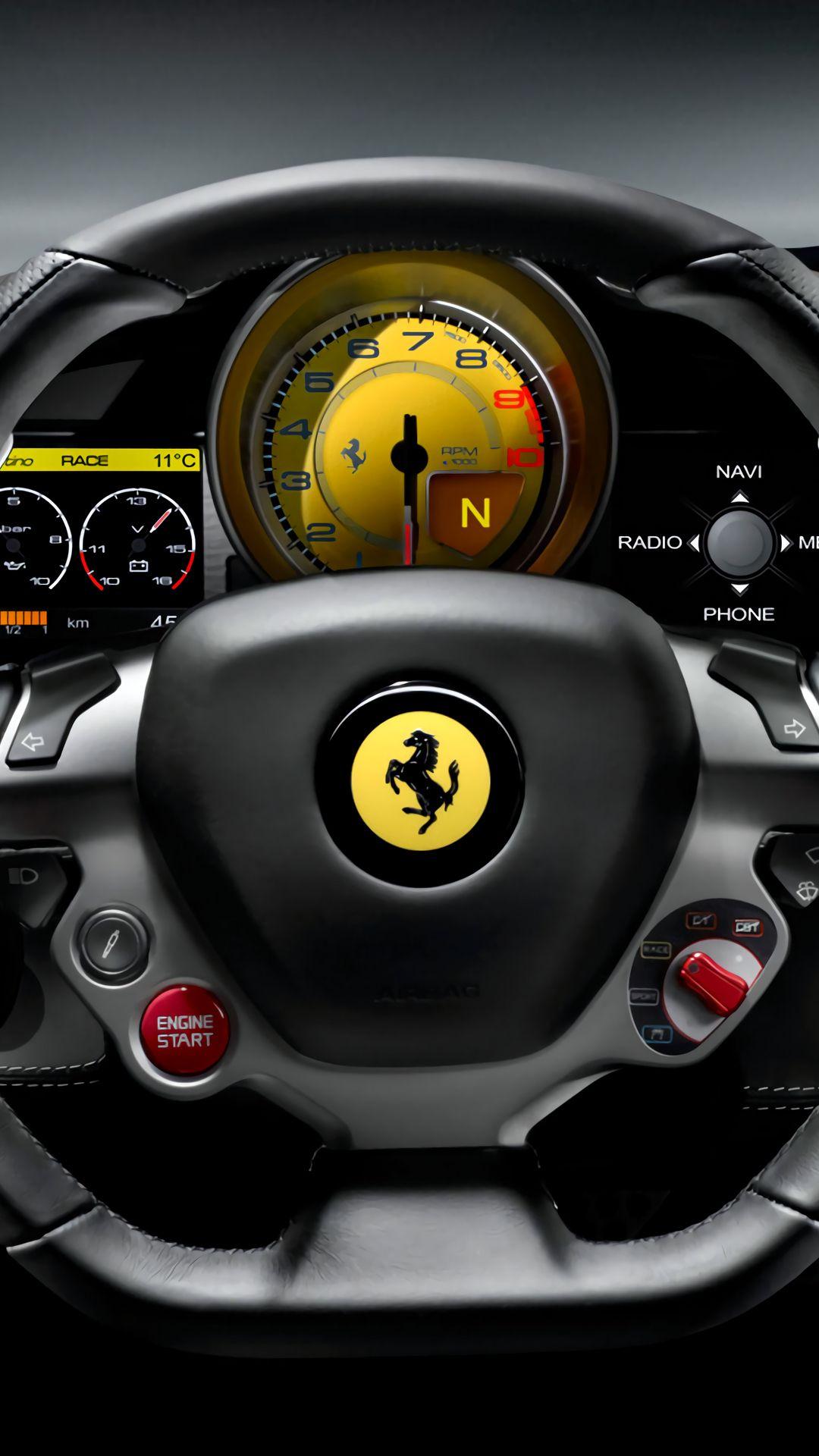Ferrari Car Mobile Hd Wallpaper Super Cars Ferrari Car Logo Wallpaper Hd