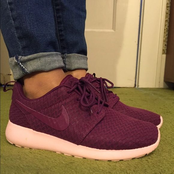 7d7ba9529203 Nike roshe one mulberry prism pink Worm several times