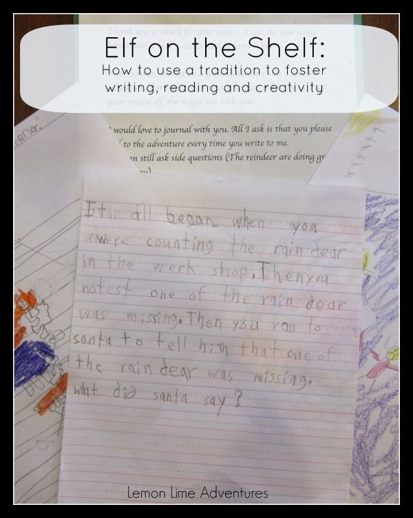 Elf on the Shelf Writing Activity | BEST Elf on the Shelf Ideas