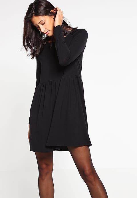 Vêtements Vila VIKITTA - Robe en jersey - black noir: 30,00 € chez Zalando (au 07/01/17). Livraison et retours gratuits et service client gratuit au 0800 915 207.