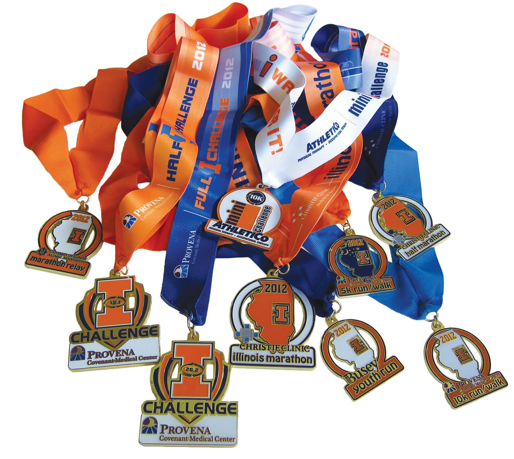 2022 Marathon Calendar.Three Of These Medals Will Be Mine In 1 Week Christie Clinic Illinois Marathon Chicago Half Marathon Marathon Calendar Usa