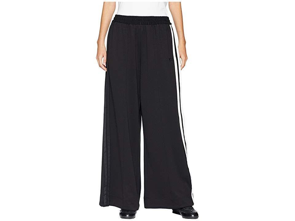 95594f3b4bfa8 adidas Y-3 by Yohji Yamamoto 3 Stripes Selvedge Matt Track Pants (Black