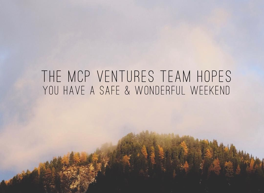 Mcp Ventures Will Be Closed On April 19th For The Holidays We