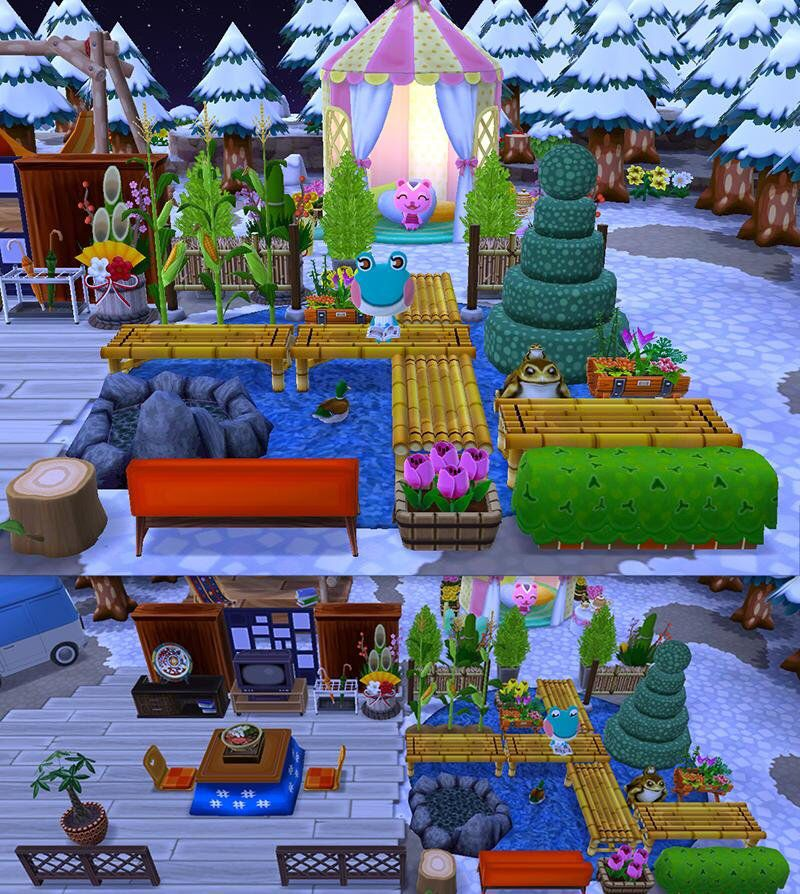 Animal Crossing: Pocket Camp Campsite Inspiration