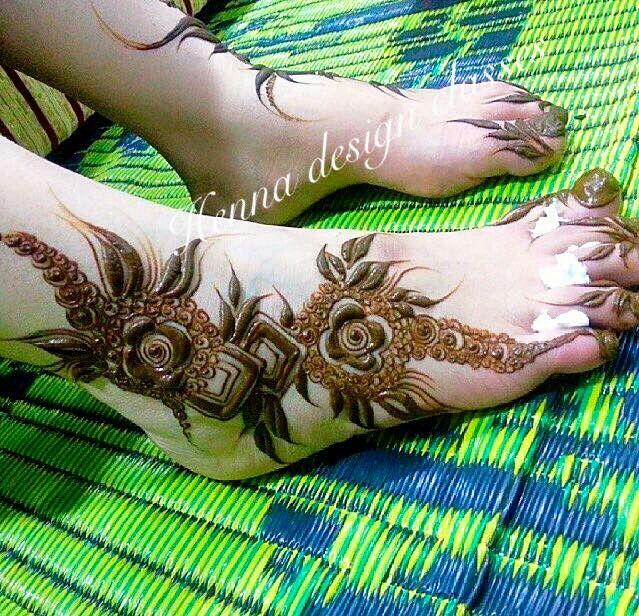 نقش حنا Foot Henna Wedding Henna Designs Arabic Henna Designs