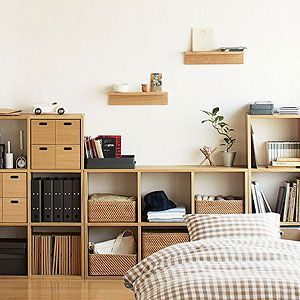 muji storage shelves rangement pinterest rangement et d co. Black Bedroom Furniture Sets. Home Design Ideas