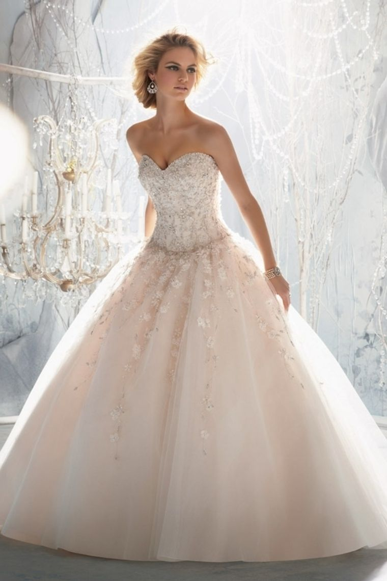 2013 Wedding Dresses Ball Gown Sweetheart Court Train Organza With ...