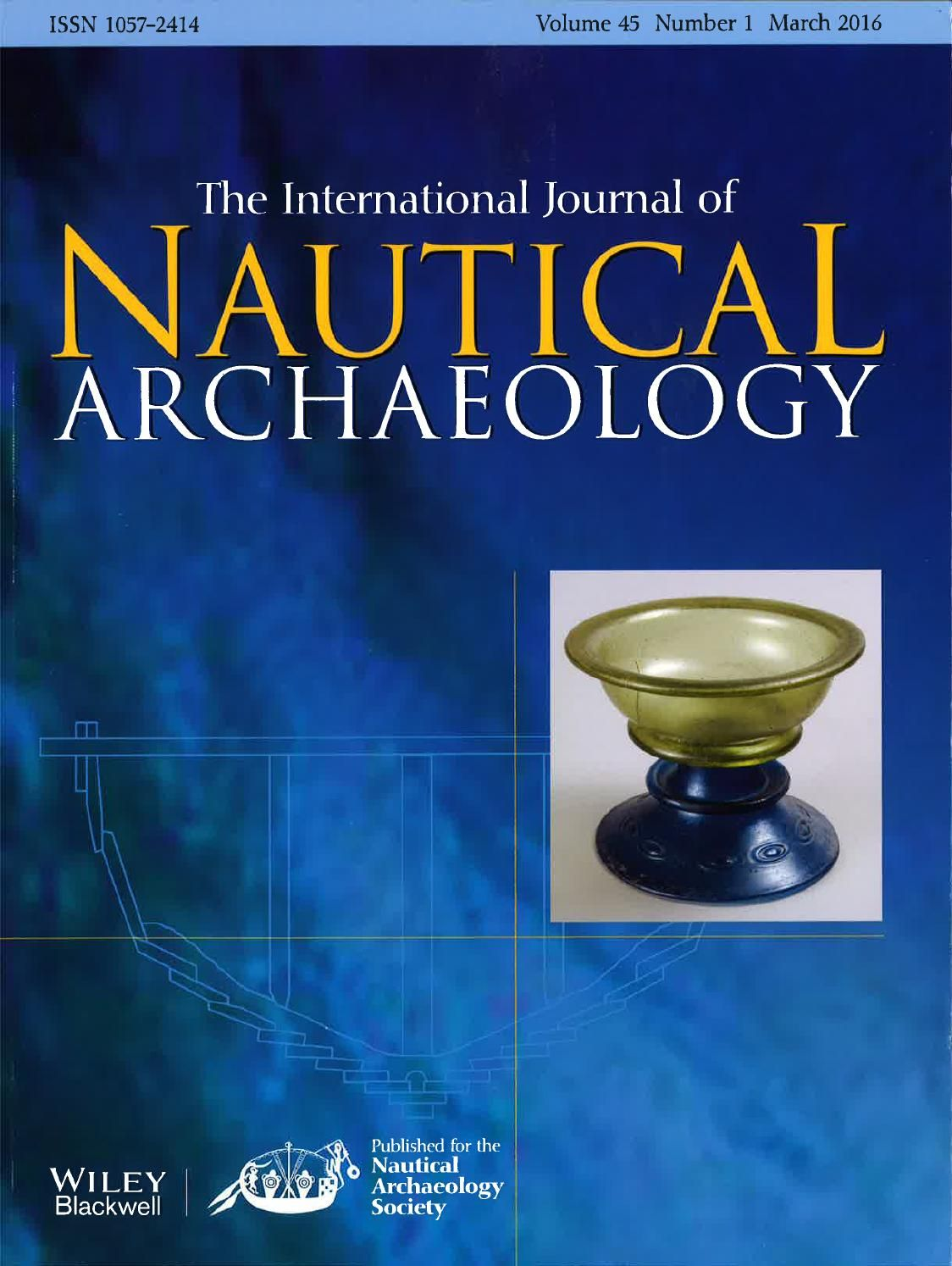 Image result for international journal of nautical archaeology cover