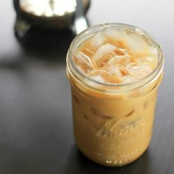 Sweet Cinnamon Iced Coffee. Rich and decadent with a hint of spice.