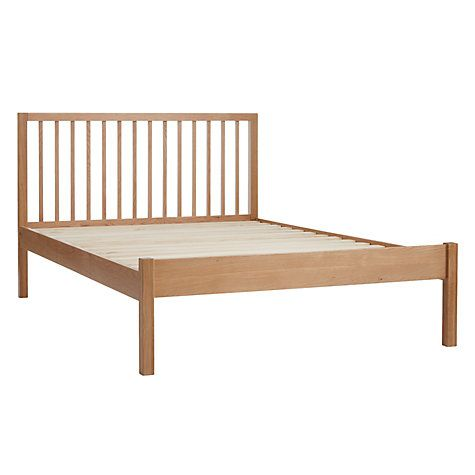 Morgan Bed Frame, King Size, Oak | John lewis, Bed frame double and ...