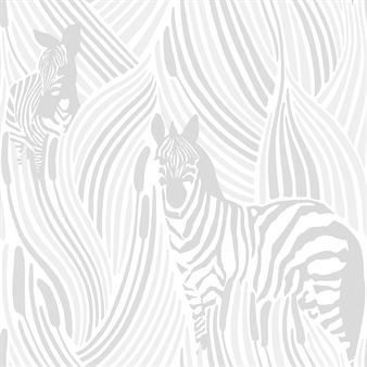 Det artige Piilossa-tapeten er designet av Riina Kuikka for det finske varemerket Vallila. Piilossa betyr