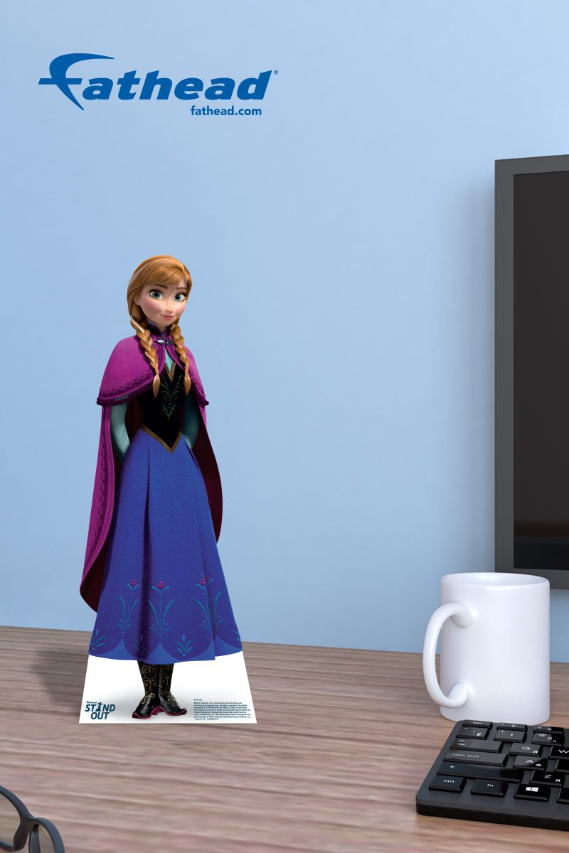 Frozen Princess Fathead Wall Decals Are Easy To Put Up And Easy - How do you put up a wall decal