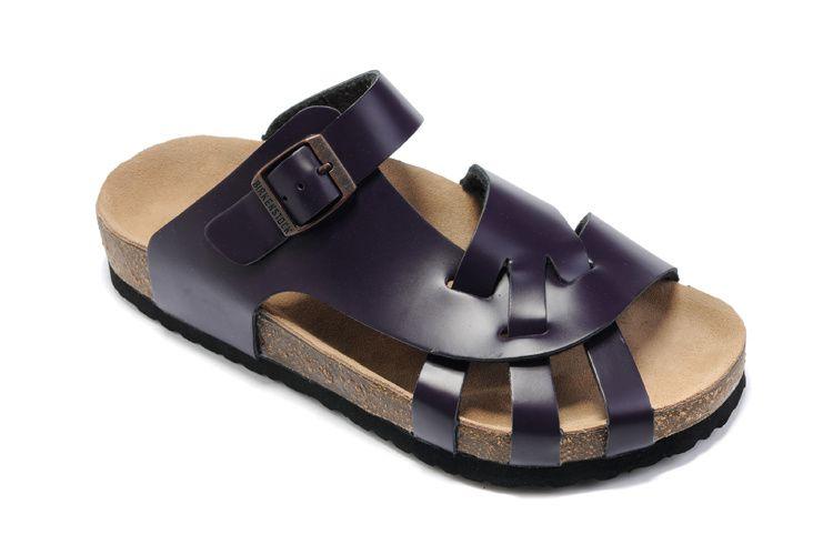d45bf96e6dd Birkenstock Pisa women s Sandals Leather Purple Fashion Outlet