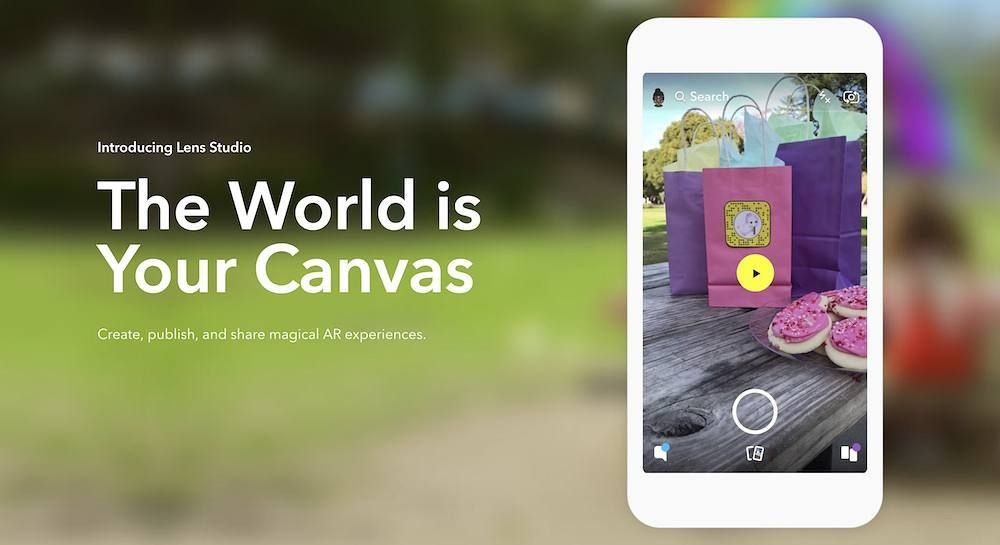 Snapchats Lens Studio Lets You Create Your Own AR Effect