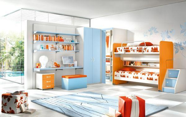 Kreative kinderhochbetten welche den stil des raumes for Billige jugendzimmer