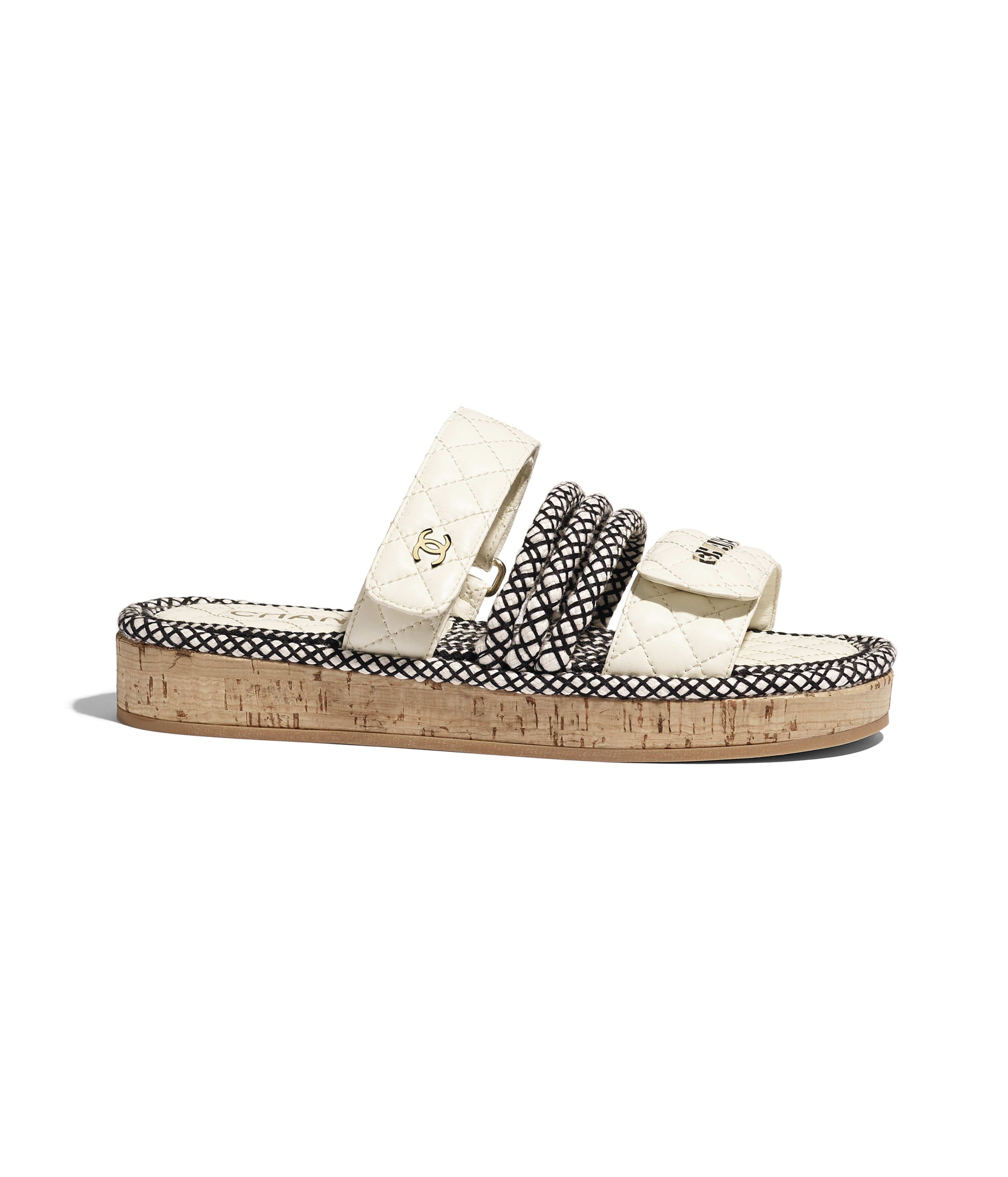 Chanel sandals, Fashion shoes