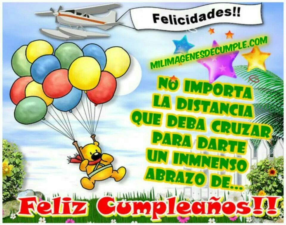 Feliz Aniversario Tia Espanol: Feliz Cumpleaños.
