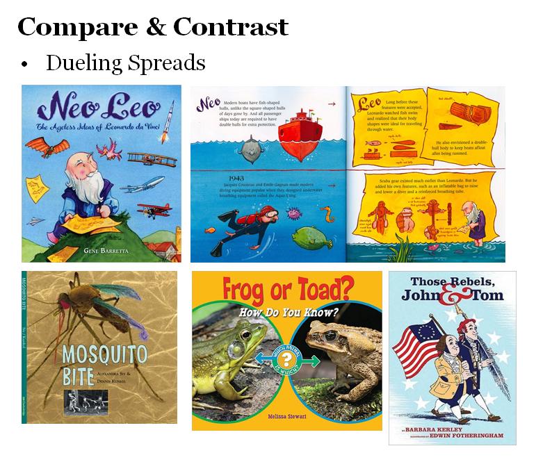 compare and contrast picture books