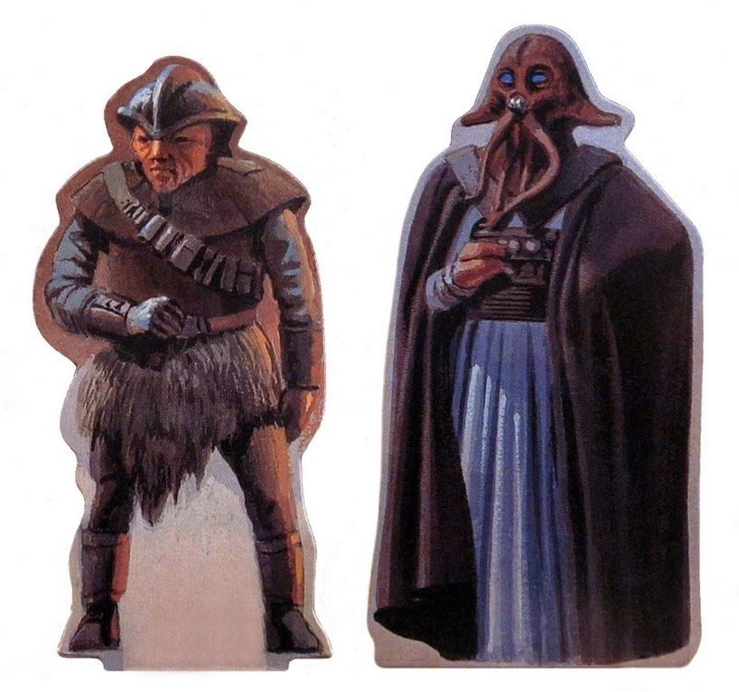 Ralph McQuarrie art from the 1995 Mos Eisley Cantina Pop-up Book.
