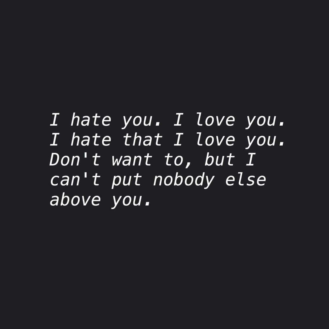 I Hate You I Love You Gnash Inspirational Music And Lyrics Love