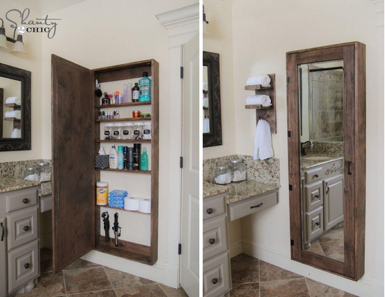 Bathroom storage ideas home decor in 2018 case bagno fai da te