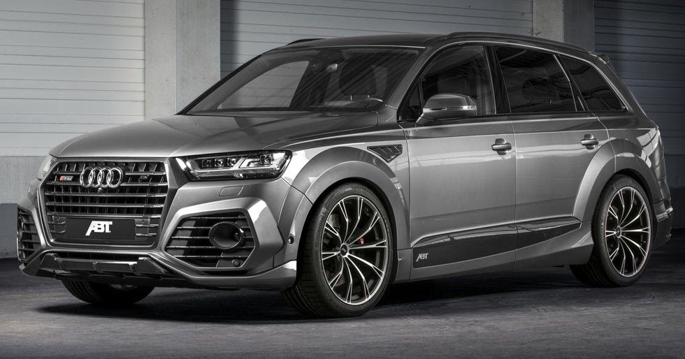 New Audi Sq7 Gets The Works From Abt With 520 Horses Audi Q7 Audi Cars Audi 2017