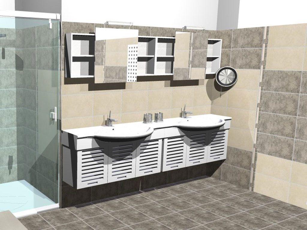 bathroom interior design made of zorka keramika tiles - calcuta, Hause ideen