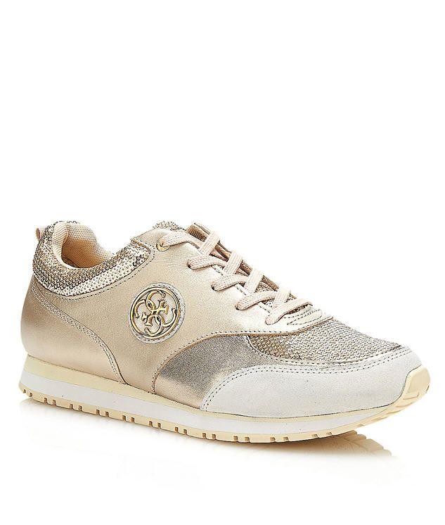 Glinna 2 - Chaussures De Sport Pour Les Femmes / Or Et Bronze Guess mzxre