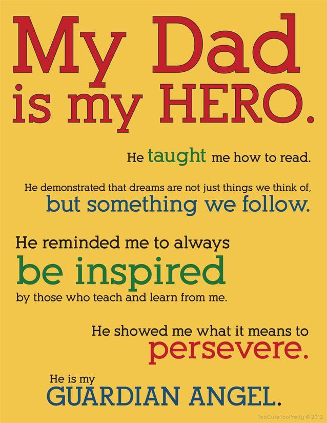 My daddy my hero essay