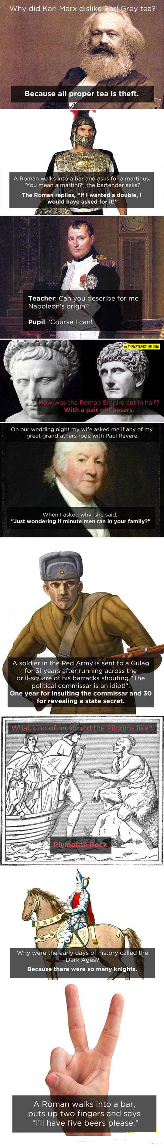 Only History Nerds Will Understand These Jokes