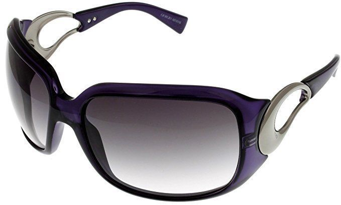 f132b8199146 Giorgio Armani Sunglasses Womens GA651S KDE 9C Violet New No Case Designer  New  GiorgioArmani